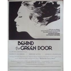 Behind The Green Door (style B)