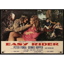 Easy Rider (UK Fotobusta 2)