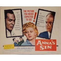 Anna's Sin (half sheet)
