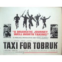 Taxi pour Tobrouk (Half sheet)