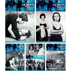 La notte (fotobusta set of 10)