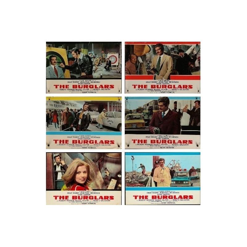 The burglars Jean Paul Belmondo movie poster print