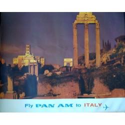 Pan Am Italy - Rome (1965)