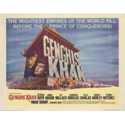 Genghis Khan (Half sheet)