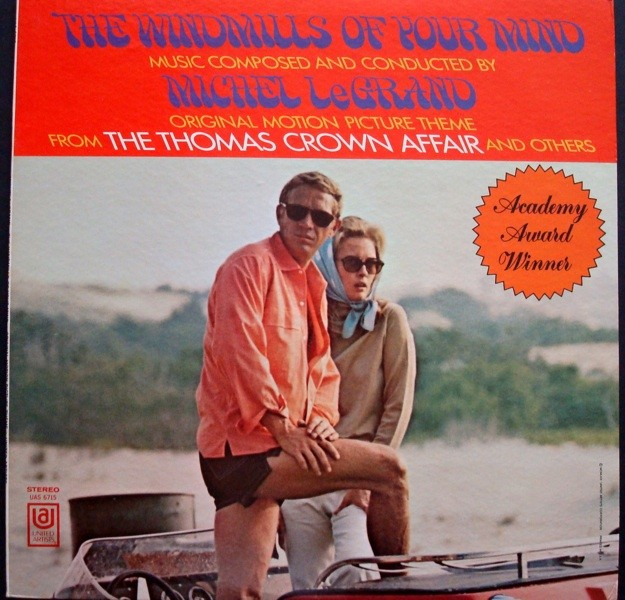 The Windmills Of Your Mind Original Soundtrack LP