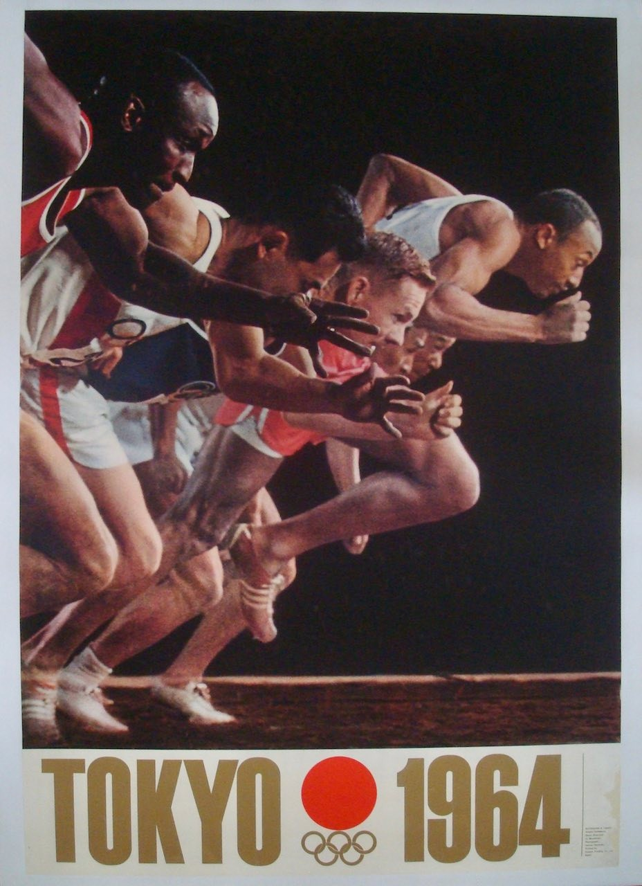 Tokyo 1964 Summer Olympics Sprint (Japanese B1 - LB)
